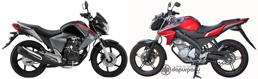 Modif Yamaha New Vixion Black