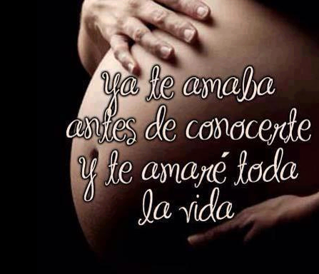 Frases para bebé en espera - Imagui