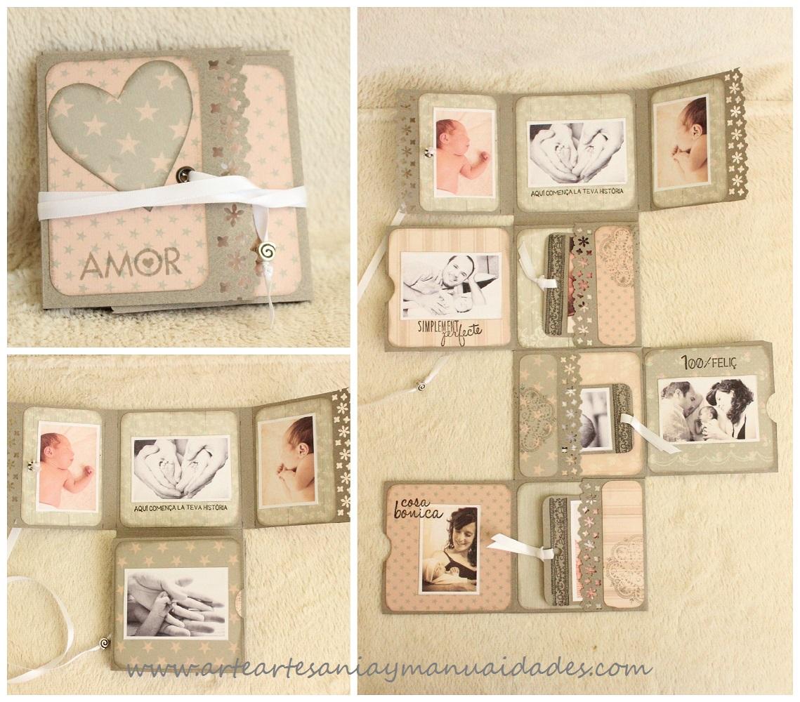 Arte artesania y manualidades mini lbum fold Paginas de decoracion de casas