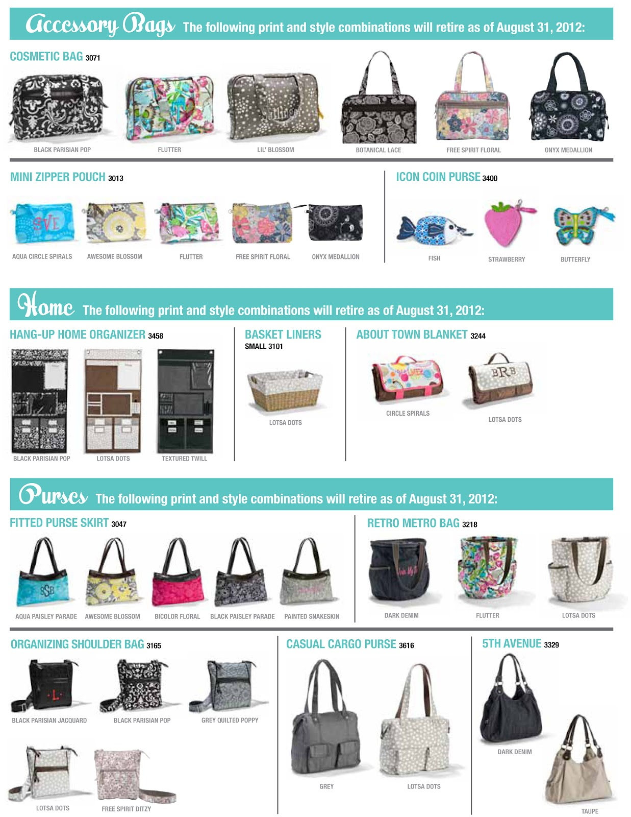 Nicole s thirty one gifts discontinued items from the summer catalog