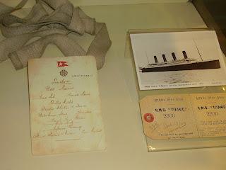titanic museo luanco