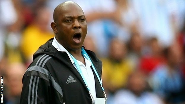 Stephen Keshi re-appointed as Nigeria coach