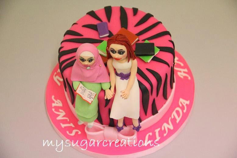 My Sugar Creations 001943746 M Linda Anis Zebra Birthday Cake
