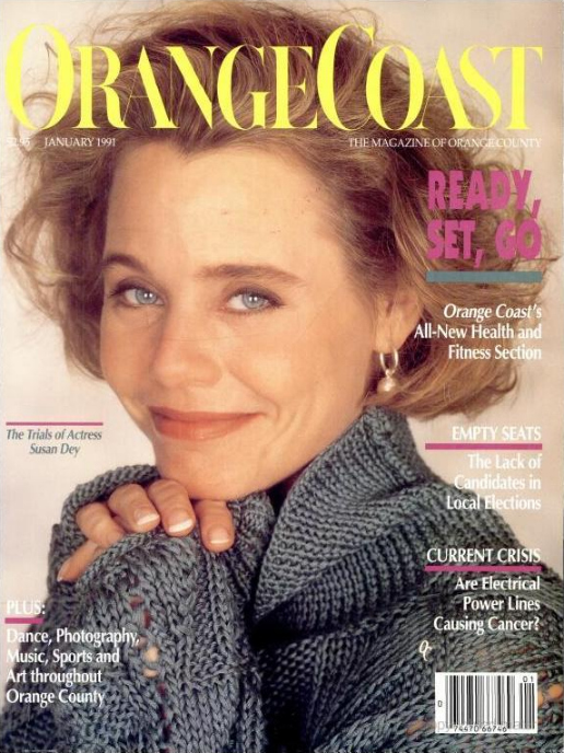 Susan Dey in Orange Coast Magazine - susan-dey_orange-coast-magazine-cover
