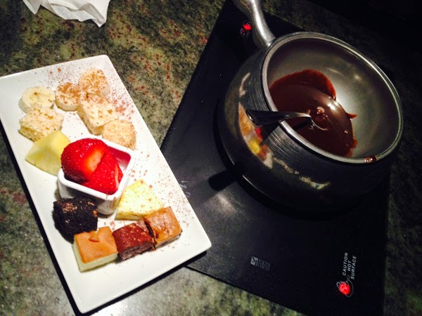 The Melting Pot - Chocolate Fondue