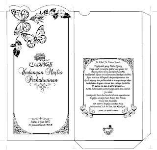 Ayat Al-Quran pada kad kahwin...boleh ke???