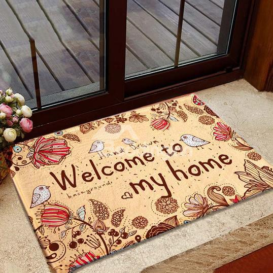 http://www.beddinginn.com/product/Top-Quality-Popular-Pretty-Yellow-Flannel-Doormat-11087640.html