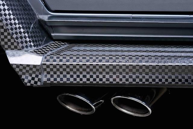 カーボンファイバーだらけのメルセデスG63 AMGのカスタムモデル