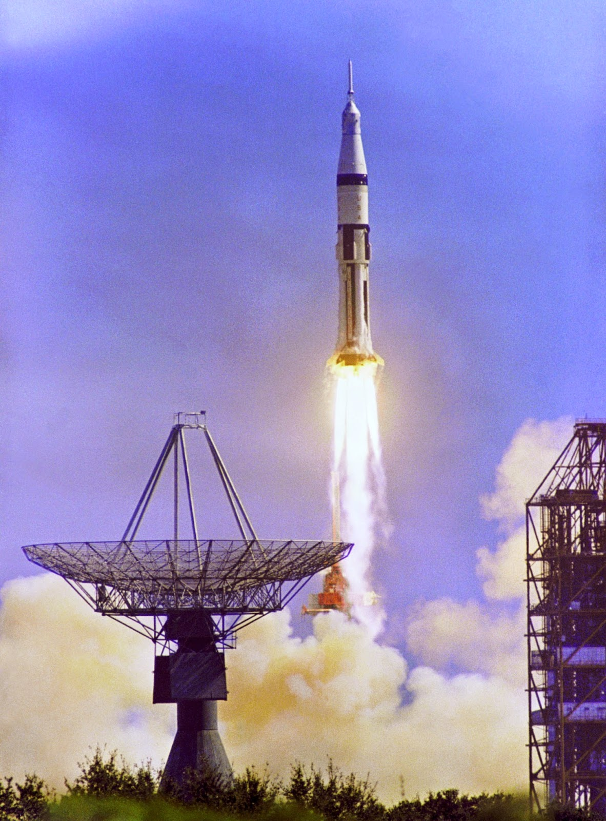 Lanzamiento del Apolo 7