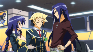 Medaka Box Abnormal Maguro Kurokami