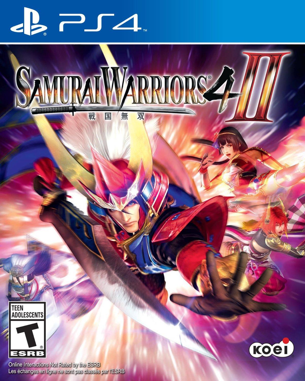 Warriors The Broken Code Release Date: New Games: SAMURAI WARRIORS 4-II (PS4, PS3, PS Vita)
