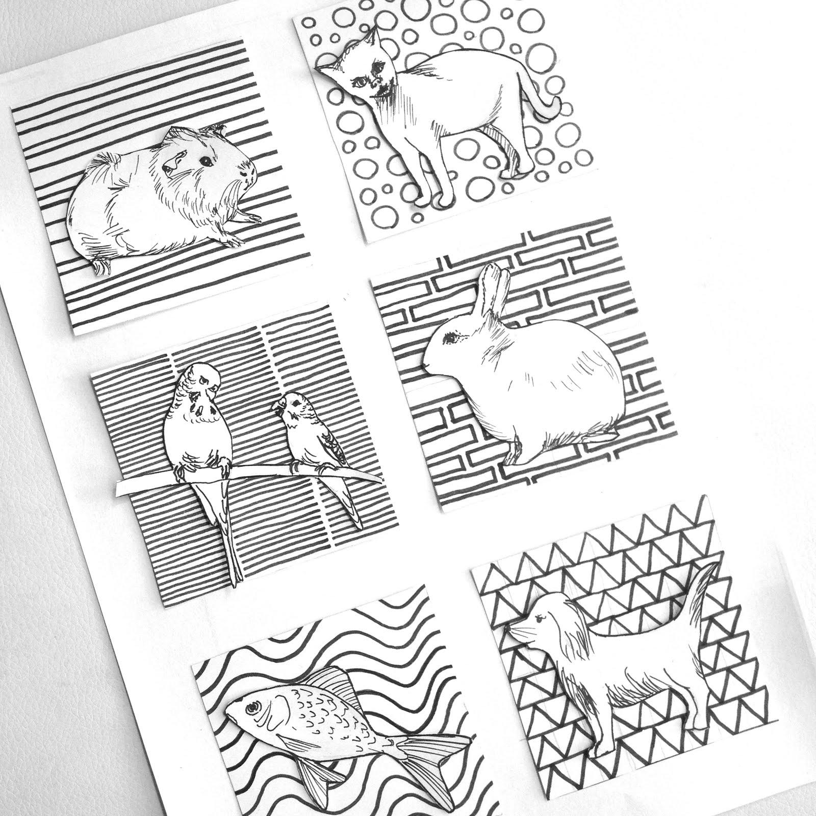 Kostky/Cubes
