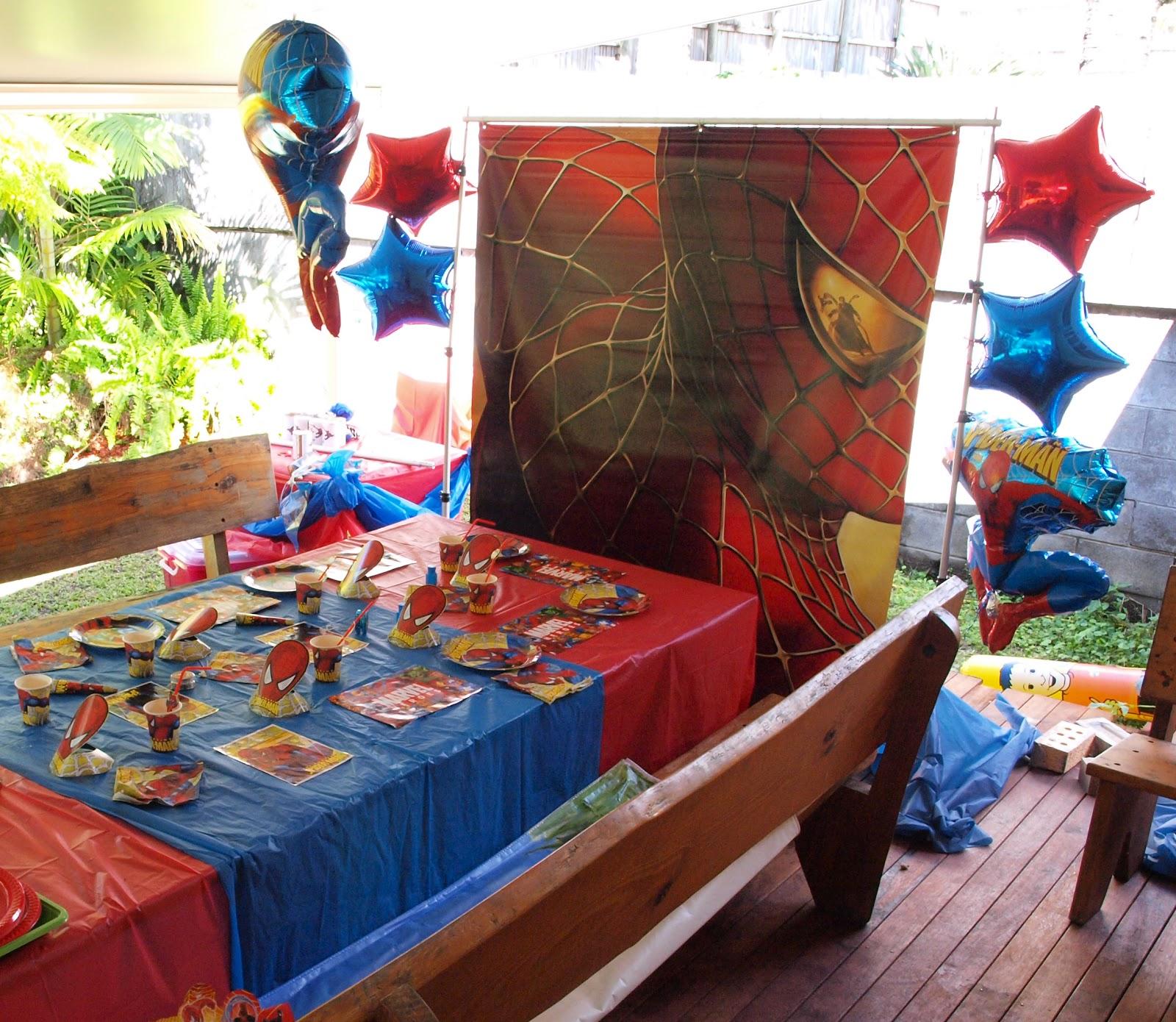 Spiderman Party For 5 Year Old