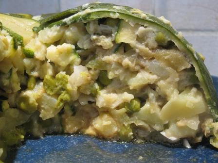 Risultati immagini per zuccotto di zucchine