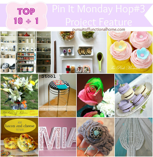 Top 10+1 Project Features from Pin It Monday Hop#3