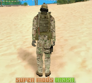 [Mod GTA SA] Skin Soldado - Seal Team 6 From 2