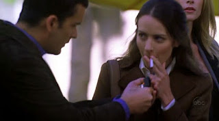 amy acker smoking