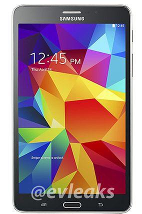 Display da 7 pollici in alta definizione per il Galaxy Tab 4 7.0