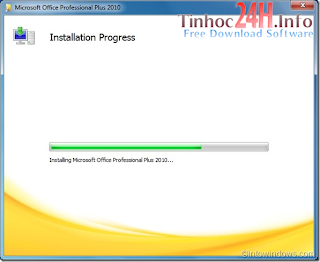 Hướng dẫn cài đặt MS Office Professional Plus 2010