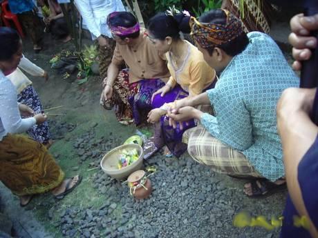 Balinese wedding ceremony