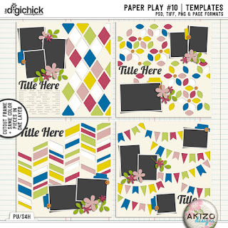 Paper Play 10 by Akizo Designs