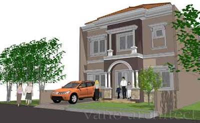 desain rumah model eropa 02