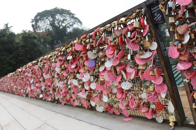 槟城- 爱情锁