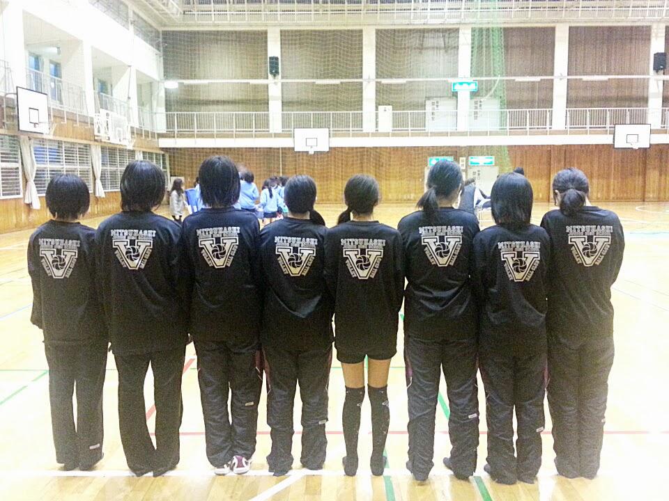 三橋中学校バレーボール部 オリジナルロングスリーブ