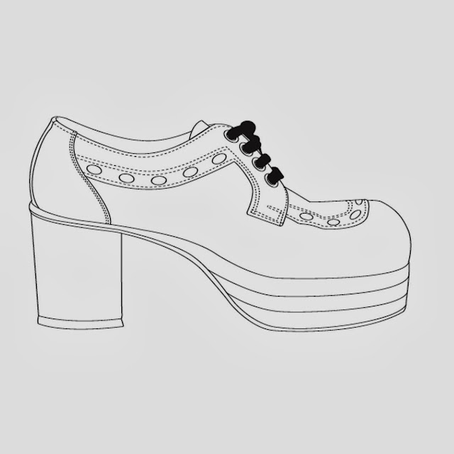 witches shoes coloring pages - photo#27
