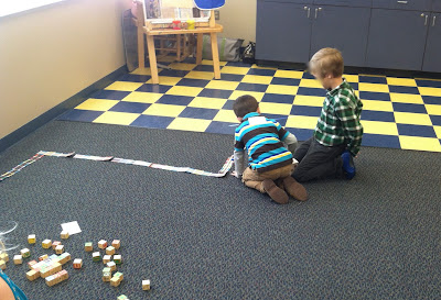 floor board game (Brick by Brick)