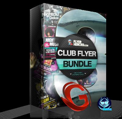 Colección de Flyers [The Club Flyer Bundle 3] - [PSD + JPG]