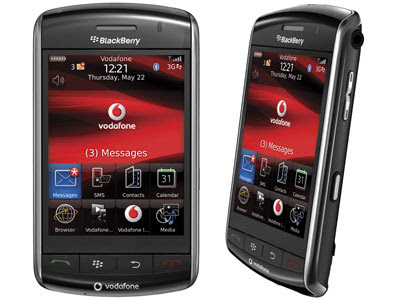 RIM BlackBerry  Storm 9500 9530 Mobile GUI PSD