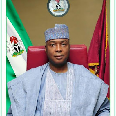 Bukola Saraki denies all 13 charges by code of conduct bureau against him.