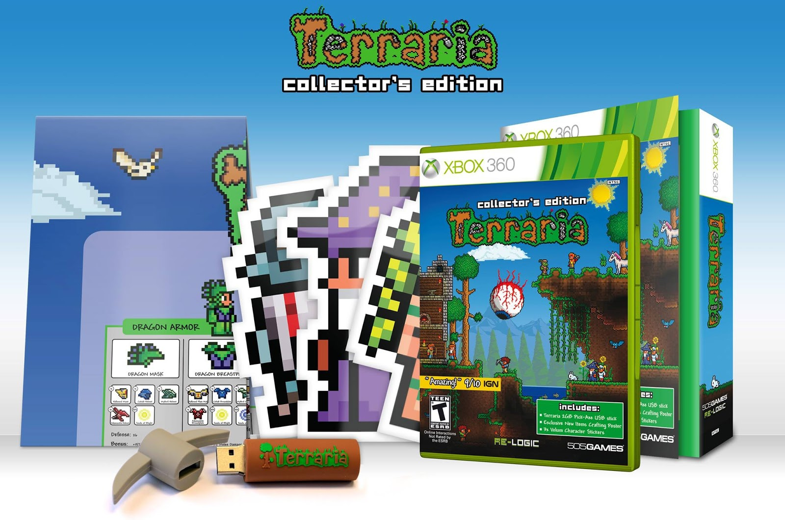 Special terraria collectors edition includes tons of cool content special terraria collectors edition includes tons of cool content publicscrutiny Image collections