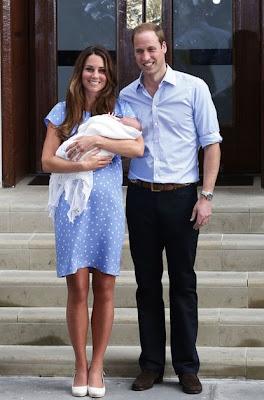 Les premières photos du Royal Baby
