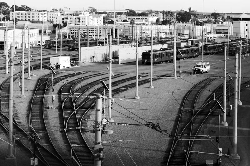 Trolley yard; click for previous post