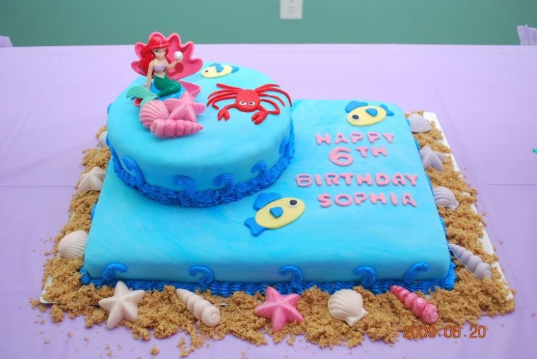 Birthday Cake Ideas Mermaid : Themed Cakes, Birthday Cakes, Wedding Cakes: Mermaid ...