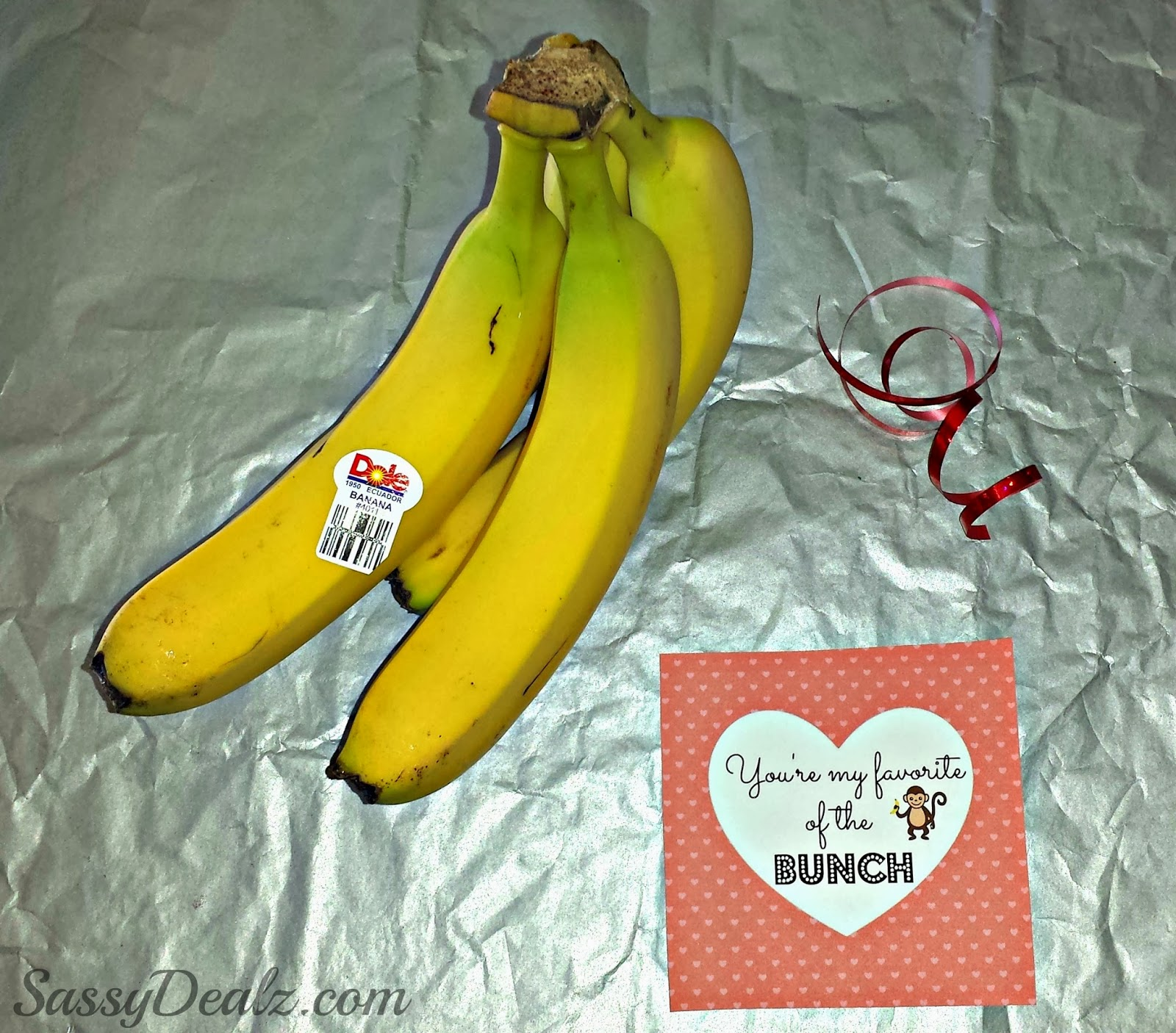 Banana Valentine Day Gift Idea