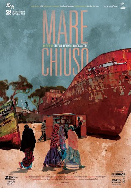 Closed Sea Poster Mare Chiuso