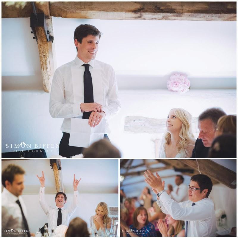 Pennard House wedding groom speech