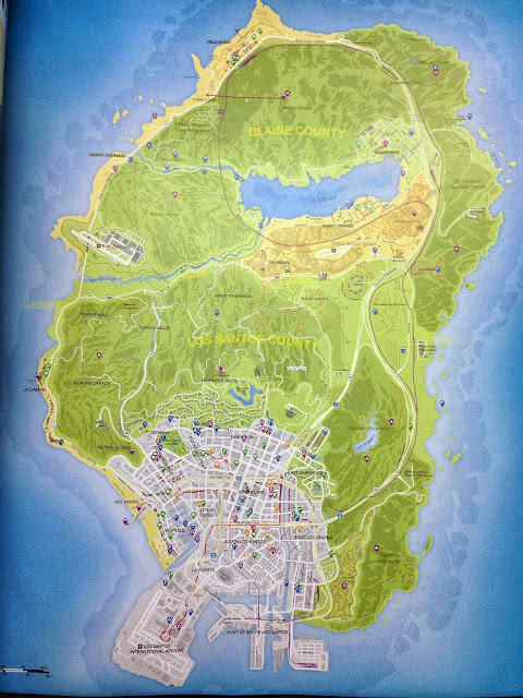 Gta 5 Map Leak GTA V Complete Map Pic...