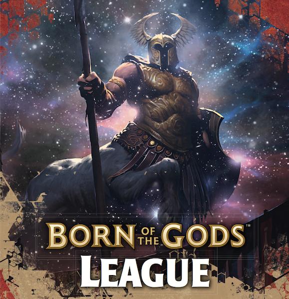Born of the gods art