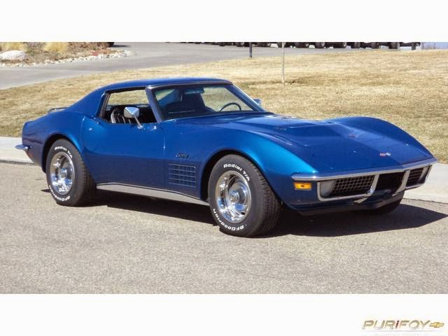 1971 Corvette 454 LS5 Big-Block Coupe - YouTube