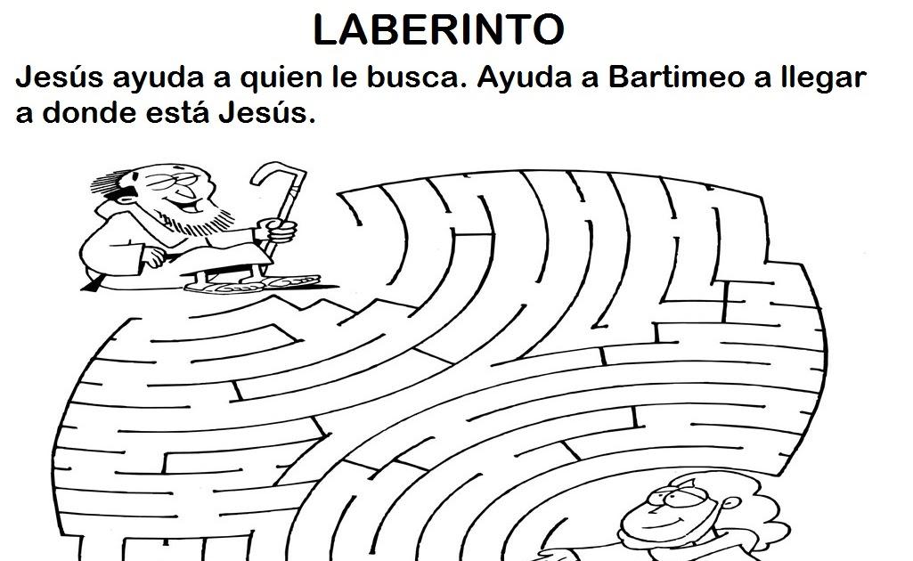 MATERIALES DE RELIGIÓN CATÓLICA: El ciego Bartimeo.