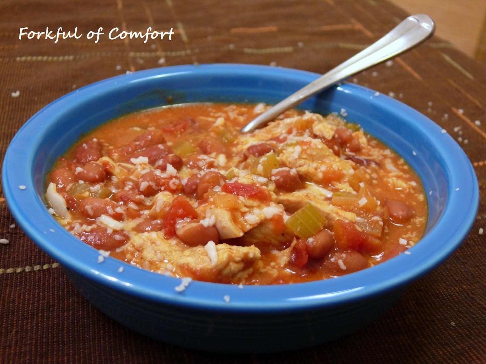 Forkful of Comfort: Buffalo Chicken Chili