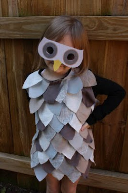 Easy to Make OWL Mask + Costume Idea