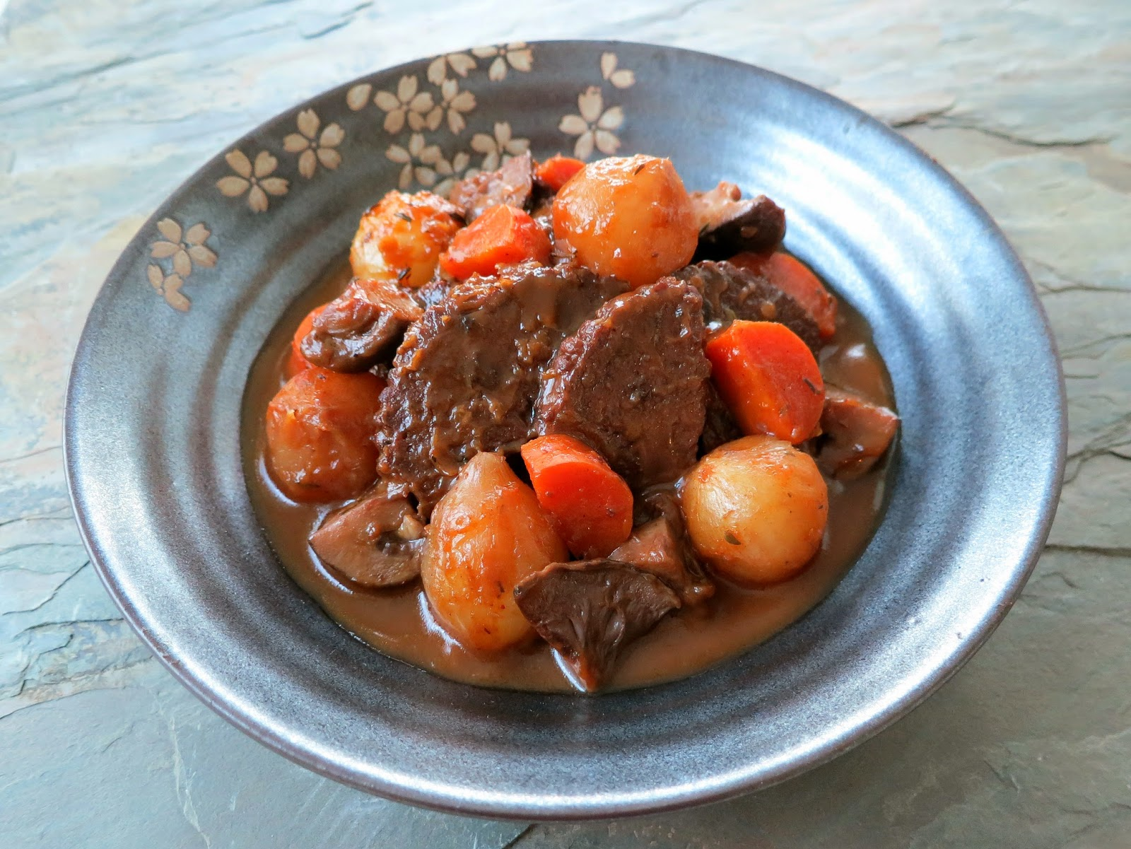 Recipe: Wild Mushroom Bourguignon (Vegan/Vegetarian Beef Bourguignon)