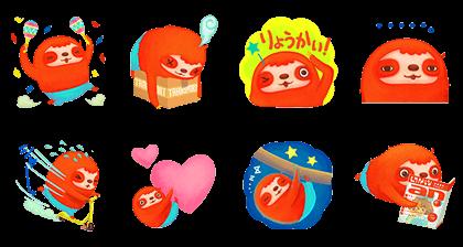 Free Ando-kun line stickers