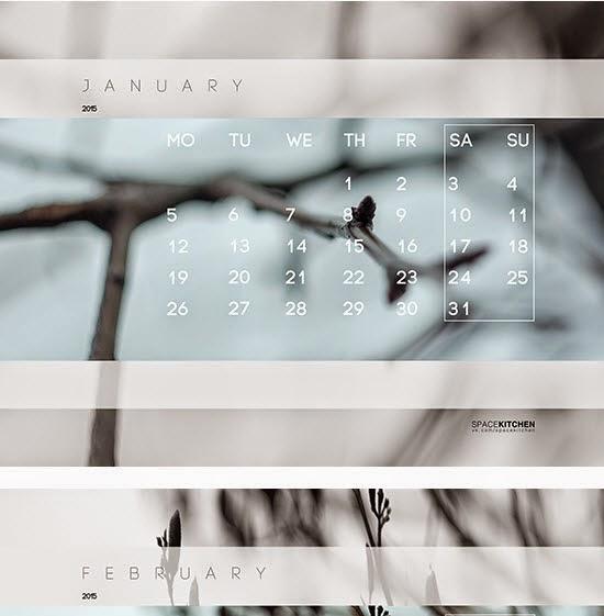 Calendar 2015 (Free DL)