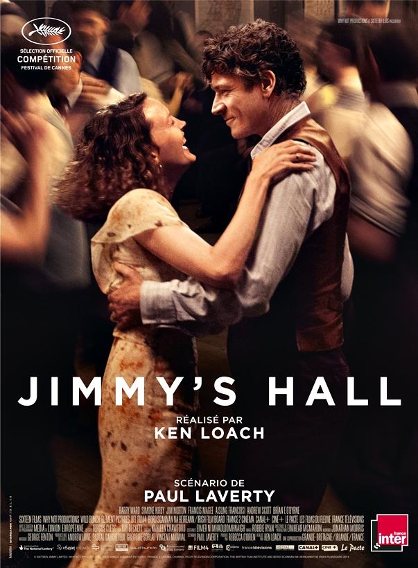 Póster de Jimmy's Hall, de Ken Loach